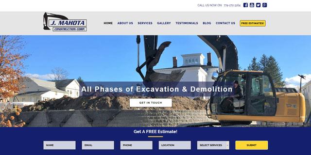 small business website design in ma